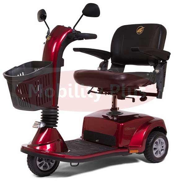 Mobility Plus Companion 3 Wheel Full Size Mobility Scooter