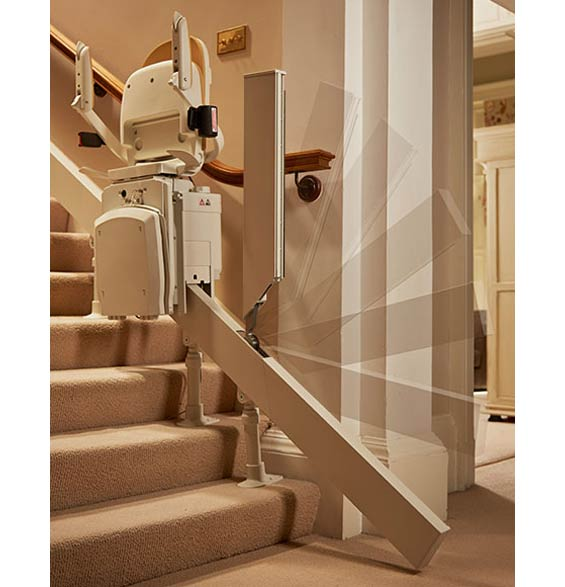 Mobility Plus of New Braunfels Acorn 180 Curved Stair Lift