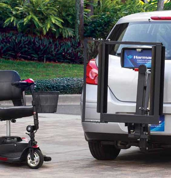 Mobility Plus AL100 Universal Scooter Lift