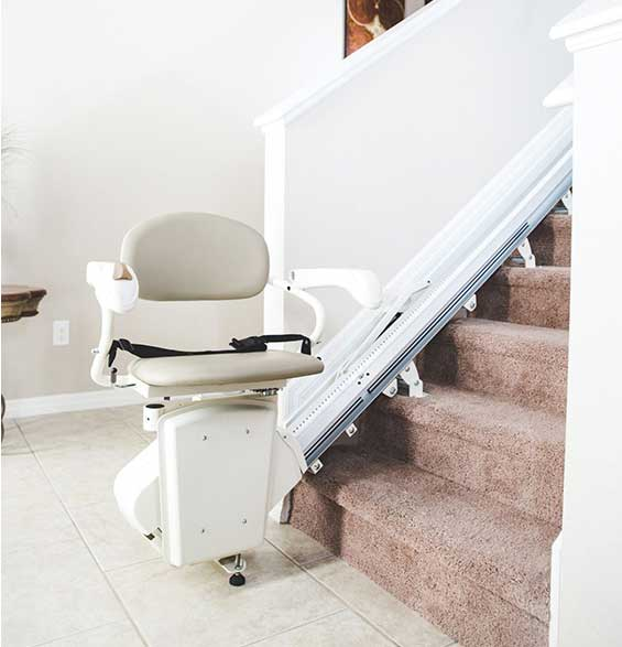 Mobility Plus of Lancaster SL300 Pinnacle Straight Stair Lift