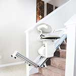 Mobility Plus of Aurora SL300 Pinnacle Straight Stair Lift